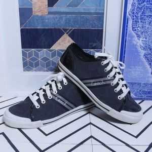 COACH Signature Folly Sneakers Size 8